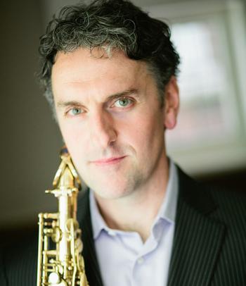 Robert Carli with sax