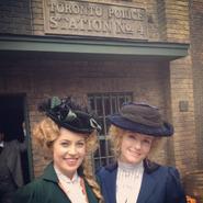 Charlotte and Helene