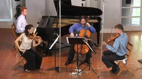 Third Piano Quartet (2005), by George Tsontakis
