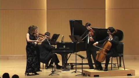 Cesar Franck Piano Quintet in f minor, mvt