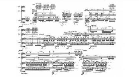 George Crumb - Vox Balaenae w score