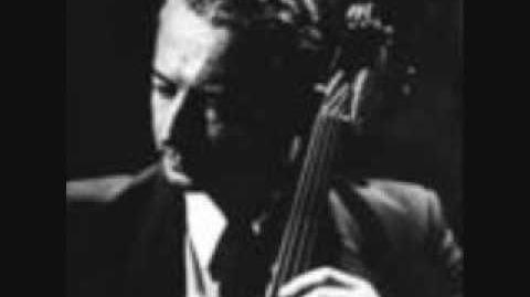 Pierre Fournier & Francis Poulenc plays Debussy Cello Sonata