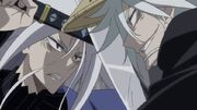 Mugai fights his older brother