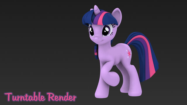 File:Twilight sparkle 3d turntable render by hashbro-d5jmc7u.jpg