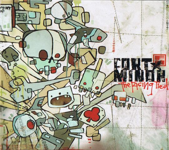 File:Scan - Fort Minor - The Rising Tied - Front Cover.jpg