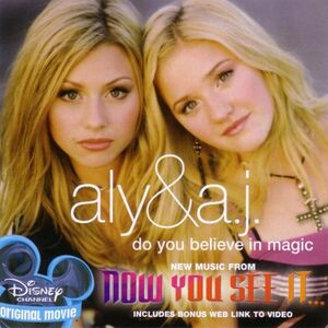 Aly & AJ - Do You Believe In Magic (Front Cover)