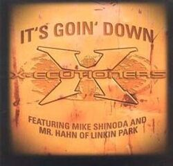 Linkin Park - It's Goin' Down CD Single Front Cover