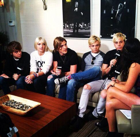 File:Brigitte Padilla in a Interview With R5.jpg
