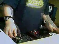 DJ Zap Scratching