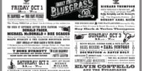 Hardly Strictly Bluegrass - 2010 LineUp