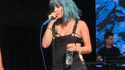 "Halsey - ""Colors"" live (HD) @ the Billboard Hot 100 Festival NY 08 22 2015"