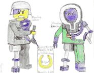 Stromling Soldier and Researcher