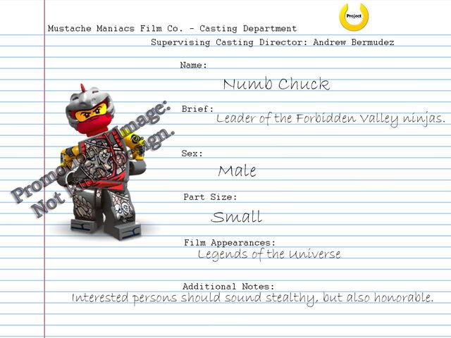 File:Audition Sheet - Numb Chuck.jpg