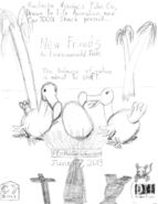 New Friends Poster Concept