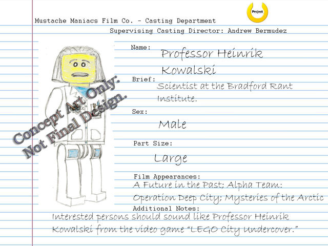 File:Audition Sheet - Professor Heinrik Kowalski.jpg