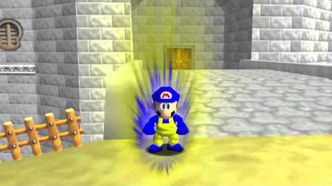 After effects mario 64 test
