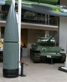 80cm Gustav shell