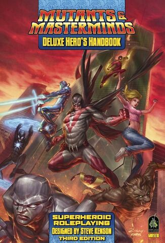 File:Mutants & Masterminds Deluxe Hero's Handbook cover.jpg
