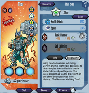 Thor Silver stats