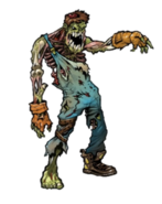Zombie early concept art