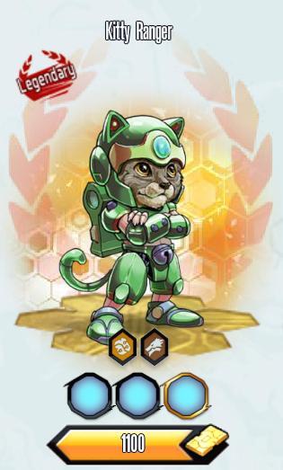 Kitty ranger normal
