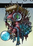 Silver lichlock