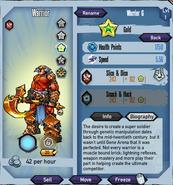 Gold-warrior
