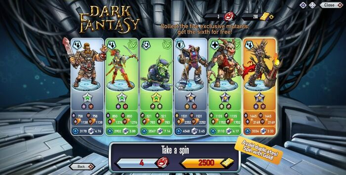Dark Fantasy Reactor Complete Browser