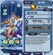 Zeus Exclusive stats