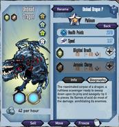 Platinum-undead-dragon