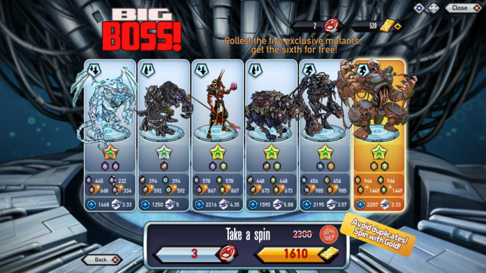 Big boss (mutant reactor)