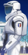 French Atmospheric Suit
