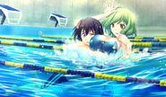 Ador swimming