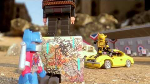 KRE-O Transformers Take Us Through the Movies