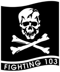 Fighter Squadron 103 (US Navy) insignia 1995