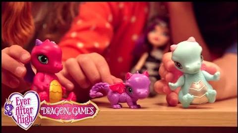 Let's Play Dragon Games! Ever After High