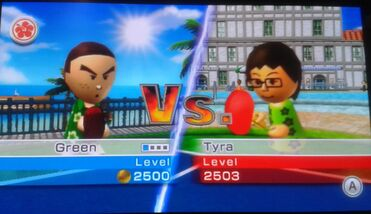 Green VS Tyra