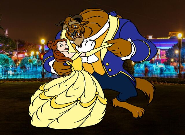 File:Belle and Beast goes to Walt Disney World Pictures 04.JPG
