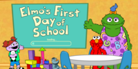 Elmo's First Day at School