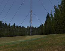 Radio mast base