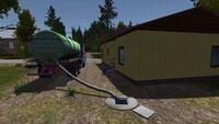 Septic tank job
