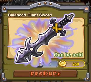 Balanced Giant Sword