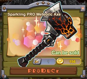 Sparkling PRO Meteoric Axe