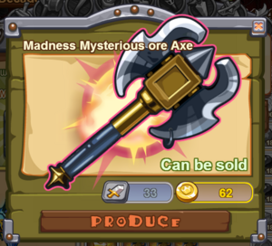 Madness Mysterious Ore Axe