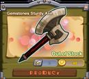 Gemstones Sturdy Axe