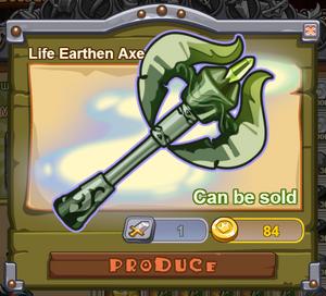 Life Earthen Axe