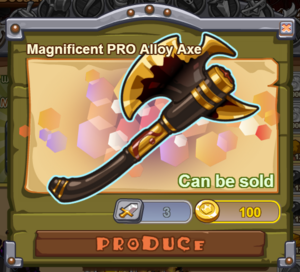 Magnificent PRO Alloy Axe