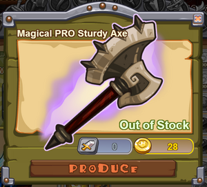Magical PRO Sturdy Axe