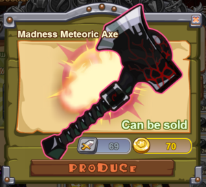 Madness Meteoric Axe
