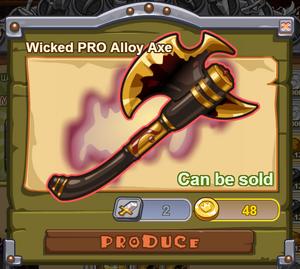 Wicked PRO Alloy Axe